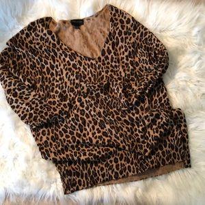 💋| Lane Bryant |💋 Leopard Print Sweater
